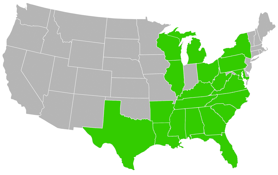COMPLETED PROJECTS LIST BY STATE - CW Hayes Construction Company